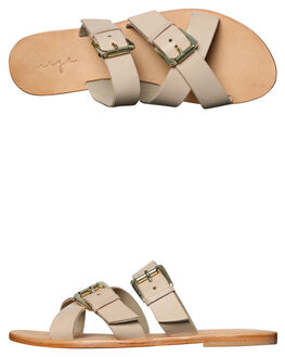 NUDE LEATHER WOMENS FOOTWEAR URGE FASHION SANDALS - URG17060NUDE