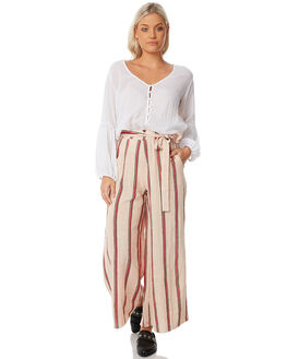 SAND RED WOMENS CLOTHING RUE STIIC PANTS - SW18-36STSANDST