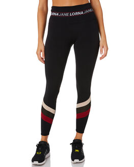 BLACK WOMENS CLOTHING LORNA JANE ACTIVEWEAR - 101914BLK