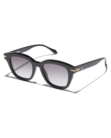 GLOSS BLACK GOLD WOMENS ACCESSORIES VALLEY SUNGLASSES - S0379BLKGD