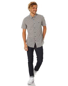 PEWTER HEATHER MENS CLOTHING BILLABONG SHIRTS - 9582202PWTR