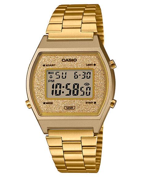 GOLD WOMENS ACCESSORIES CASIO WATCHES - B640WGG-9DGLD