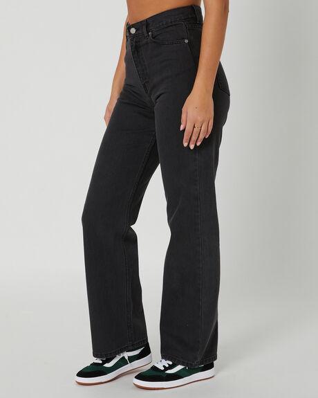 CONCRETE BLACK WOMENS CLOTHING DR DENIM JEANS - 2010108871