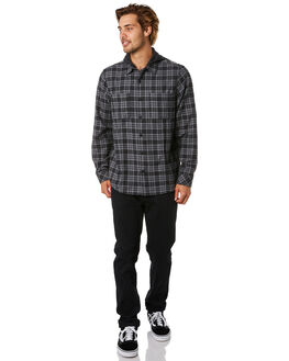 BLACK MENS CLOTHING HURLEY SHIRTS - CD9463010
