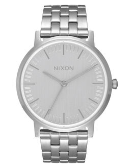 ALL SILVER MENS ACCESSORIES NIXON WATCHES - A11981920