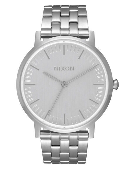 ALL SILVER UNISEX ADULTS NIXON WATCHES - A11981920