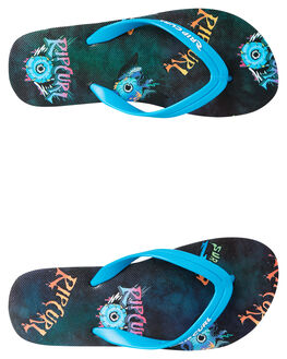 BLUE KIDS BOYS RIP CURL THONGS - TKTEOO_0070