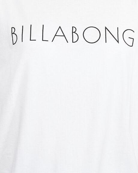 WHITE WOMENS CLOTHING BILLABONG TEES - BB-6507019-WHT