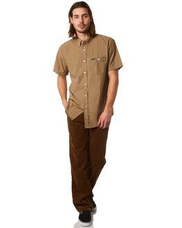 CHAR BRONZE MENS CLOTHING BRIXTON SHIRTS - 01009CHBNZ
