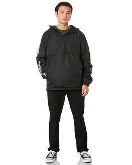BLACK MENS CLOTHING VOLCOM JACKETS - A1631903BLK