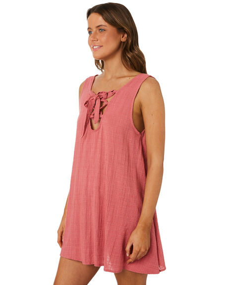 RUST OUTLET WOMENS RIP CURL FASHION TOPS - GOVZV30530