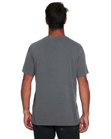 SMOKE MENS CLOTHING RVCA TEES - RV-R105053-SMK