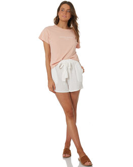 BLUSH WOMENS CLOTHING RHYTHM TEES - OCT18W-PT02BLS