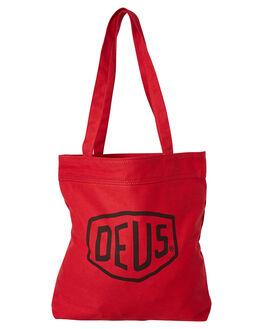 RED MENS ACCESSORIES DEUS EX MACHINA BAGS + BACKPACKS - DMP77431RED