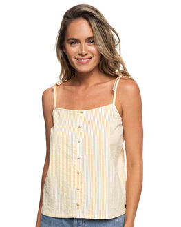 OCHRE CORNFIELD WOMENS CLOTHING ROXY FASHION TOPS - ERJWT03264YHV7