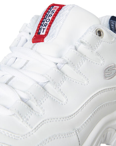 WHITE WOMENS FOOTWEAR SKECHERS SNEAKERS - 2250WHT