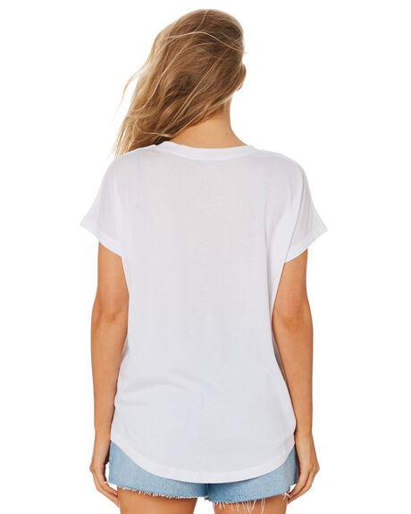 WHITE WOMENS CLOTHING RIP CURL TEES - GTEKZ91000