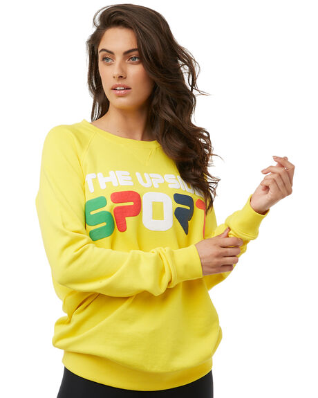 YELLOW WOMENS CLOTHING THE UPSIDE JUMPERS - UPL1785YELL