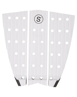 WHITE BOARDSPORTS SURF SYMPL SUPPLY CO TAILPADS - SYMPLTW2WHT