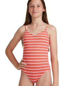 Roxy Girls 8-14 Kinda Savage One Piece Swimsuit - Deep Sea Coral | SurfStitch