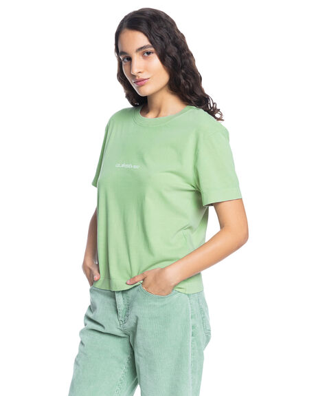 SAGE WOMENS CLOTHING QUIKSILVER TEES - EQWZT03038-GHZ0