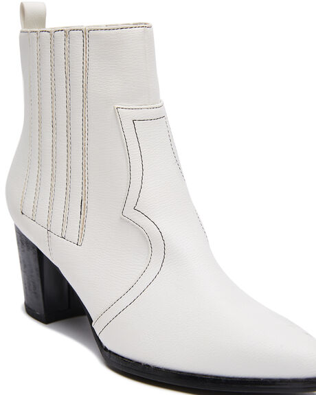 OFF WHITE WOMENS FOOTWEAR ST SANA BOOTS - ST211W208OWHI