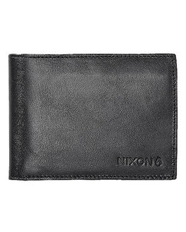 BLACK MENS ACCESSORIES NIXON WALLETS - C2387000