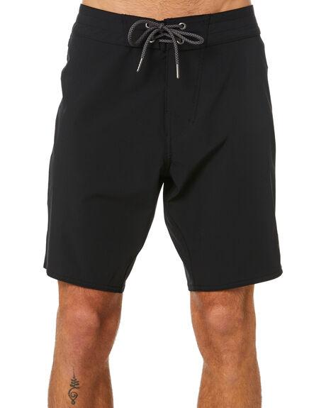 BLACK MENS CLOTHING STAY BOARDSHORTS - SBO-19106BLK