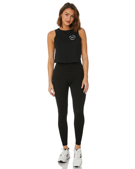 BLACK WOMENS CLOTHING SWELL ACTIVEWEAR - S8222522BLK