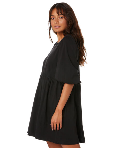 BLACK WOMENS CLOTHING THE HIDDEN WAY DRESSES - H8204445BLACK