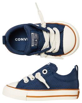 NAVY KIDS BOYS CONVERSE FOOTWEAR - 763525NAVY