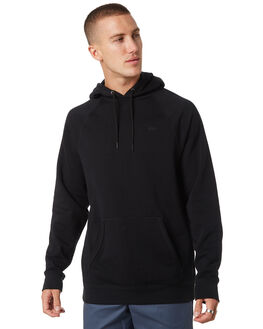 BLACK MENS CLOTHING VANS JUMPERS - VNA3HPZBLKBLK