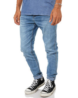 DAYBREAK BLUE MENS CLOTHING GLOBE JEANS - GB01736008DYBBL
