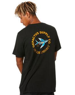 BLACK MENS CLOTHING DEPACTUS TEES - D5204007BLACK