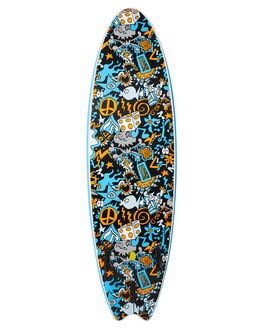 BLUE BOARDSPORTS SURF OCEAN AND EARTH SOFTBOARDS - SESO66GBLU