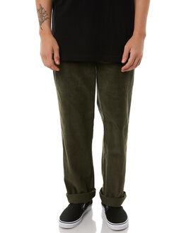 DARK OLIVE MENS CLOTHING DICKIES PANTS - K1180905DOLI
