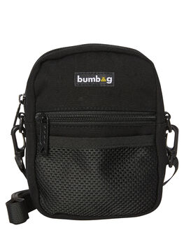 BLACK MENS ACCESSORIES THE BUMBAG CO BAGS + BACKPACKS - CB009BLK