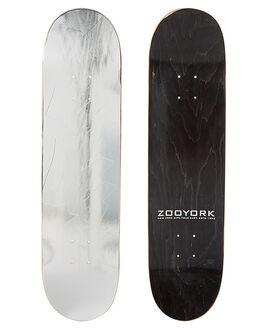 SILVER SKATE DECKS ZOO YORK  - SZD581SIL