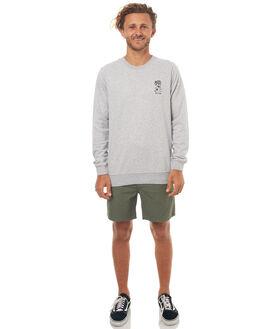 GREY MARLE MENS CLOTHING RHYTHM JUMPERS - OCT17M-FL01-GRY