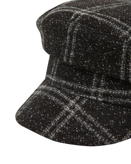 BLACK WOMENS ACCESSORIES BILLABONG HEADWEAR - BB-6607309-BLK
