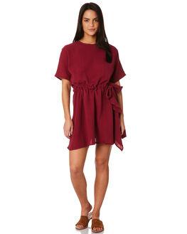 RASBERRY WOMENS CLOTHING THE BARE ROAD DRESSES - 992041-03RAS