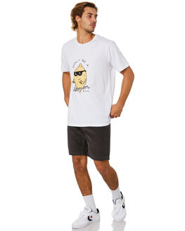 WHITE MENS CLOTHING BARNEY COOLS TEES - 105-Q120WHT