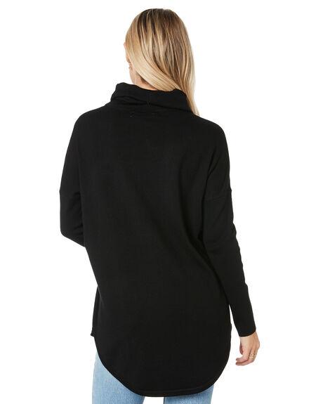 BLACK WOMENS CLOTHING BETTY BASICS KNITS + CARDIGANS - BB437W20BLK