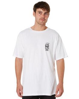 WHITE MENS CLOTHING VANS TEES - VNA3W12WHTWHI