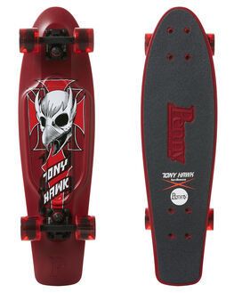 CREST MAROON BOARDSPORTS SKATE PENNY COMPLETES - PNYCOMP27445CMRN