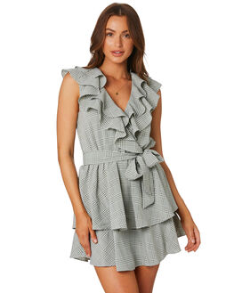 SAGE WHITE WOMENS CLOTHING MINKPINK DRESSES - MP1906457SAGE