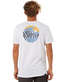 WHITE MENS CLOTHING SWELL TEES - S5183015WHITE