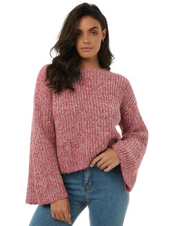 ROSE WOMENS CLOTHING TIGERLILY KNITS + CARDIGANS - T385130ROSE