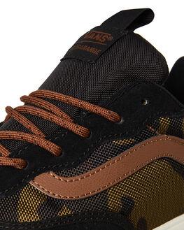 BLACK MENS FOOTWEAR VANS SNEAKERS - VNA3NASQ3YBLK