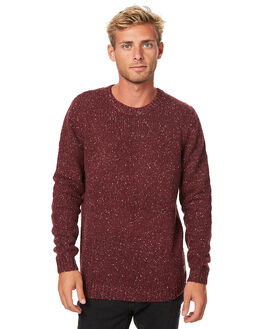 PORT MENS CLOTHING RUSTY KNITS + CARDIGANS - CKM0307POT